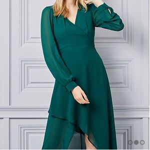 Brand new chic dress from Chateau (dark green)